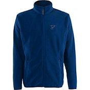 Antigua Men's St. Louis Blues Blue Full-Zip Ice Jacket