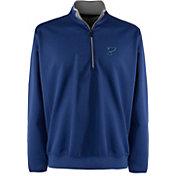 Antigua Men's St. Louis Blues Leader Blue Quarter-Zip Pullover Jacket