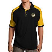 Antigua Men's Boston Bruins Black/Gold Century Polo