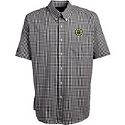 Antigua Men's Boston Bruins Deluxe White Polo Shirt