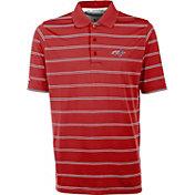 Antigua Men's Washington Capitals Deluxe Red Polo Shirt