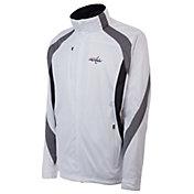Antigua Men's Washington Capitals Tempest White Full-Zip Jacket