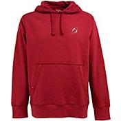 Antigua Men's New Jersey Devils Red Signature Fleece Hoodie