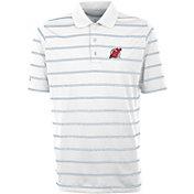 Antigua Men's New Jersey Devils Deluxe White Polo Shirt