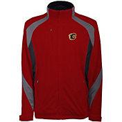 Antigua Men's Calgary Flames Tempest Red Full-Zip Jacket
