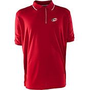 Antigua Men's Carolina Hurricanes Xtra-Lite Elite Red Polo