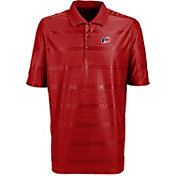 Antigua Men's Carolina Hurricanes Illusion Red Polo