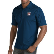 Antigua Men's Winnipeg Jets Inspire Navy Polo