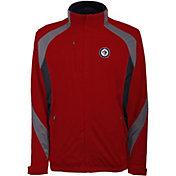 Antigua Men's Winnipeg Jets Tempest Red Full-Zip Jacket
