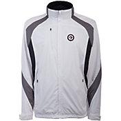 Antigua Men's Winnipeg Jets Tempest White Full-Zip Jacket