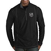 Antigua Men's Los Angeles Kings Tempo Half-Zip Pullover Shirt