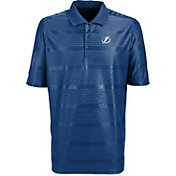 Antigua Men's Tampa Bay Lightning Illusion Blue Polo