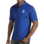 Antigua Men's Toronto Maple Leafs Inspire Royal Polo