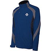 Antigua Men's Toronto Maple Leafs Tempest Blue Full-Zip Jacket