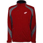 Antigua Men's Detroit Red Wings Tempest Red Full-Zip Jacket
