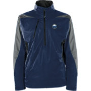 Antigua Men's Buffalo Sabres Discover Navy Half-Zip Pullover Jacket