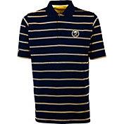 Antigua Men's Buffalo Sabres Deluxe Navy Polo Shirt