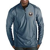 Antigua Men's Buffalo Sabres Tempo Half-Zip Pullover Shirt