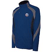 Antigua Men's New York Islanders Tempest Blue Full-Zip Jacket