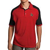 Antigua Men's Ottawa Senators Red/Black Century Polo