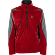 Antigua Men's Ottawa Senators Discover Red Half-Zip Pullover Jacket