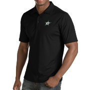 Antigua Men's Dallas Stars Inspire Black Polo