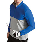 Antigua Men's Regime Woven Quarter-Zip Golf Pullover