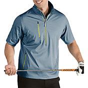 Antigua Men's Tour Half-Zip Short Sleeve Golf Pullover