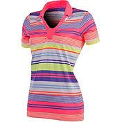 Antigua Women's Brazen Performance Yarn Dye Golf Polo