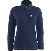 Antigua Women's Milwaukee Brewers Navy Ice Jacket