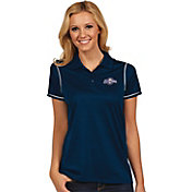 Antigua Women's Milwaukee Brewers Icon Navy Performance Polo