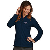 Antigua Women's Milwaukee Brewers Full-Zip Navy       Golf Jacket