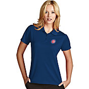 Antigua Women's Chicago Cubs Exceed Royal Performance Polo