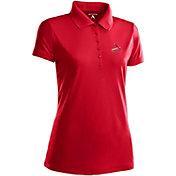 Antigua Women's St. Louis Cardinals Dark Red Xtra-Lite Pique Performance Polo
