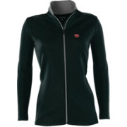Antigua Women's Arizona Diamondbacks Leader Black Full-Zip Jacket