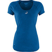 Antigua Women's Los Angeles Dodgers Royal Pep T-Shirt