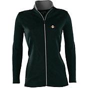 Antigua Women's San Francisco Giants Leader Black Full-Zip Jacket