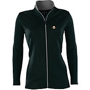 Antigua Women's San Francisco Giants Leader Black Full-Zip Jacket