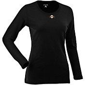 Antigua Women's San Francisco Giants Black Relax Long Sleeve Shirt