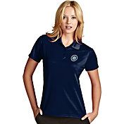 Antigua Women's Seattle Mariners Exceed Navy Performance Polo