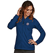 Antigua Women's New York Mets Full-Zip Royal   Golf Jacket
