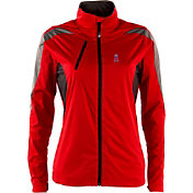 Antigua Women's Los Angeles Angels Full-Zip Red Discover Jacket