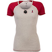 Antigua Women's Los Angeles Angels White/Red Crush T-Shirt