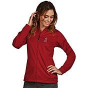 Antigua Women's Los Angeles Angels Full-Zip Red  Golf Jacket