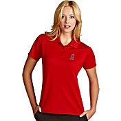 Antigua Women's Los Angeles Angels Exceed Red Performance Polo