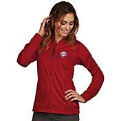Antigua Women's Philadelphia Phillies Full-Zip Red  Golf Jacket