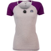 Antigua Women's Colorado Rockies White/Purple Crush T-Shirt