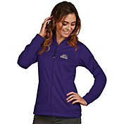 Antigua Women's Colorado Rockies Full-Zip Purple  Golf Jacket