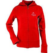Antigua Women's Boston Red Sox Signature Red Full-Zip Hoodie
