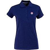Antigua Women's Texas Rangers Royal Spark Polo